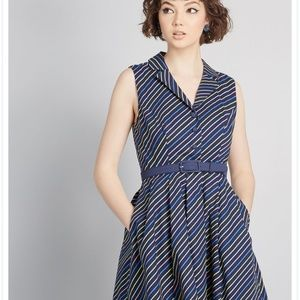 Modcloth shirtdress brand new!